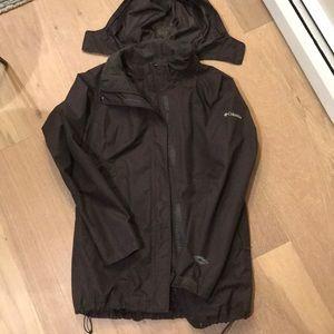 Columbia Omni-tech jacket with removable fleece